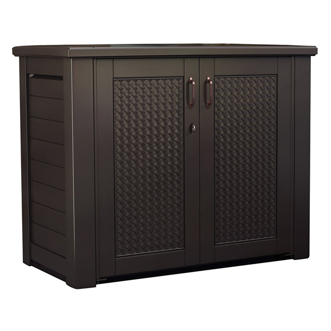 armoire de rangement chic de rubbermaid rona. Black Bedroom Furniture Sets. Home Design Ideas