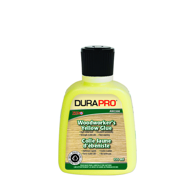 DURAPRO Woodworker's Glue - 4000 lb - 135 ml