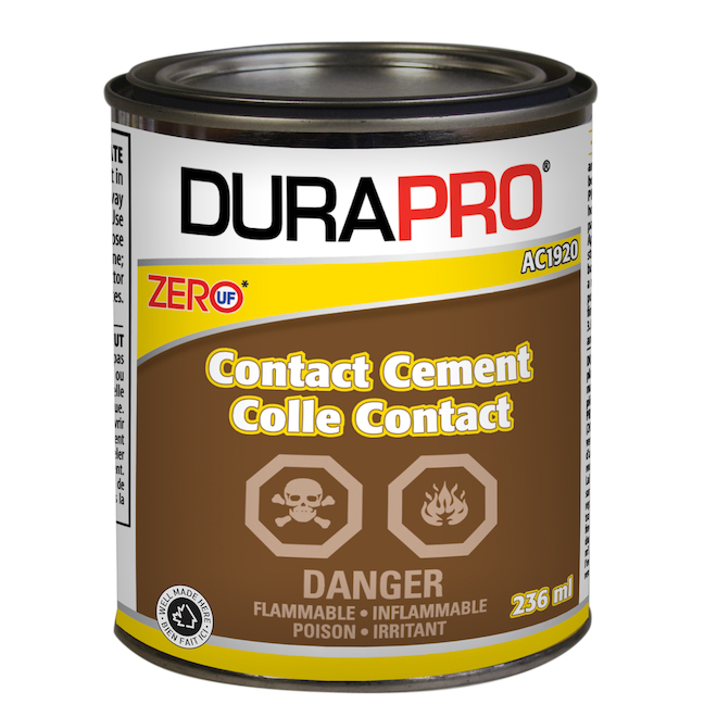 Contact Cement - Rubber Base - 236 mL