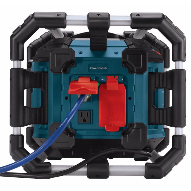Radio stéréo Power Box(TM) 360 degrés pour le chantier, 18 V