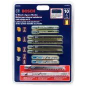 Carbon Steel U-Shank Jigsaw Blades