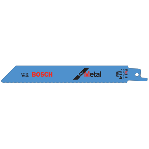 Metal Reciprocating Saw Blade - 6""