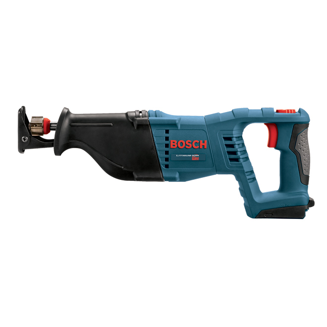 Bosch Cordless Reciprocating Saw - Li-Ion 18 V - 1 1/8-in