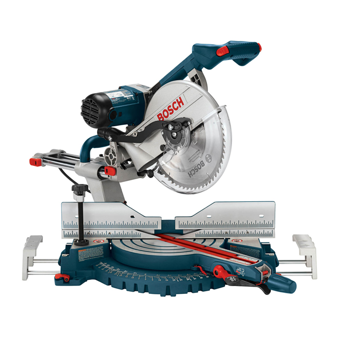Dual-Bevel Slide Miter Saw with Upfront Controls - 12''