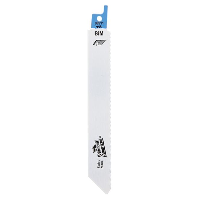 "Bi-Metal Reciprocating Saw Blade - 24 TPI - 6"""