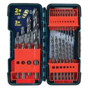 Black Oxide Drill Bit Set - 21-Pieces