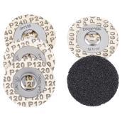 Disques à poncer « EZ Lock (MC) », grains variés, pqt de 5