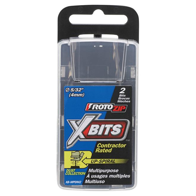 Mèches multifonctions « XBits(MC) », 5/32po, paquet de 2