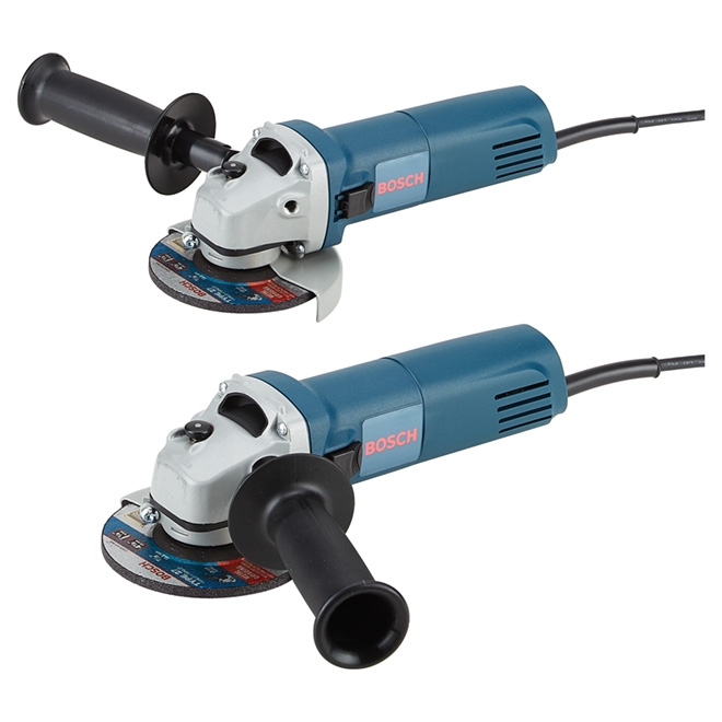 """Angle Grinders - Electric - 4 1/2""""- 6A - 2 Pack"""