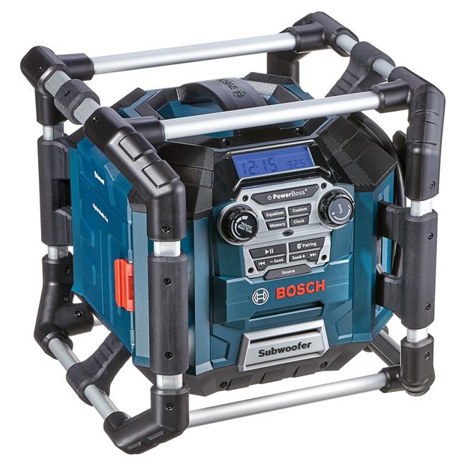Radio multifonction Power Boss(TM) avec son 360° et Bluetooth®