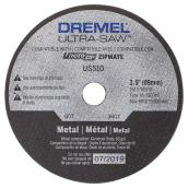 Aluminum Oxide Metal Cutting Wheel - Ultra-Saw - 3 1/2