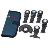 Oscillating Multi-Tool Accessory Blade Set - Starlock - 6 PK