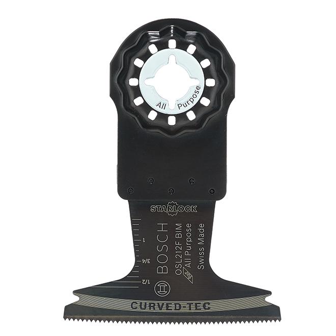 Lame plongeante oscillante Bosch Starlock, bimétal, paquet de 1, 4 po L. x 2 1/2 po l.