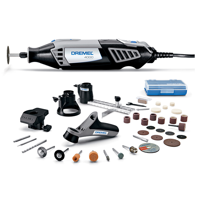 High Performance Rotary Tool Kit - 120 V - 34-Piece