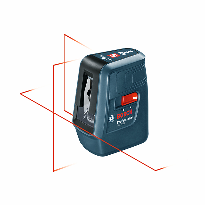 GLL3-15 Self-Leveling Three-Line Laser Measure - 50'