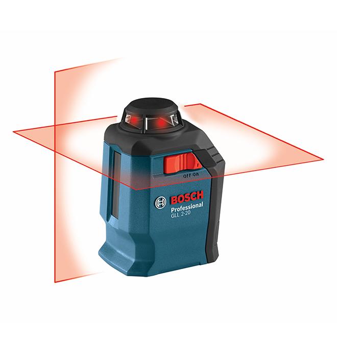 Laser en croix et à mise à niveau automatique GLL 2-20, 65'