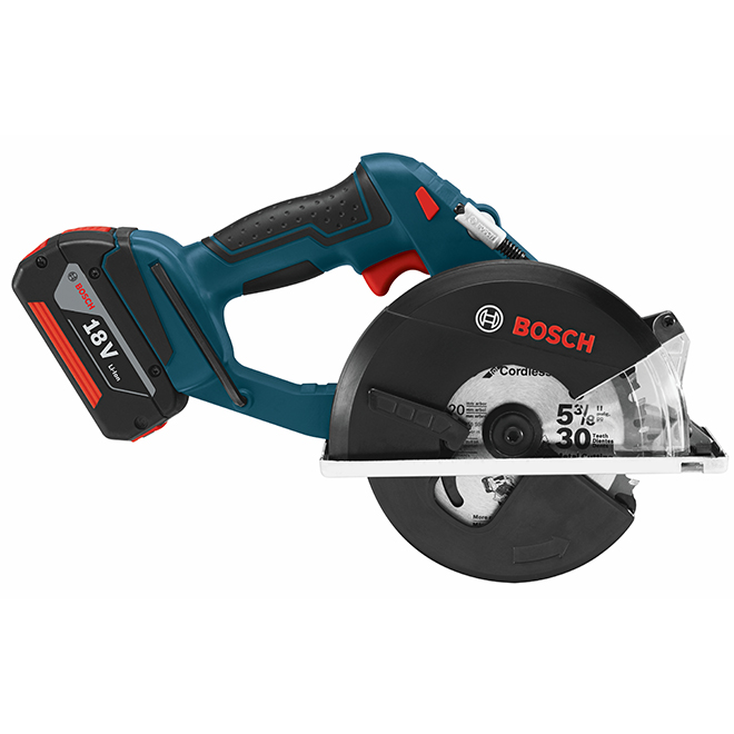 Bosch Bare Metal Circular Saw - 18 V Lithium-Ion - 5 3/8-in