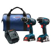Set of 2 Tools - Drill/Impact Driver - 18 V
