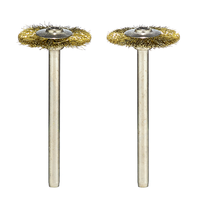 "Brass Brushes - 3/4"" - 2 Pack"