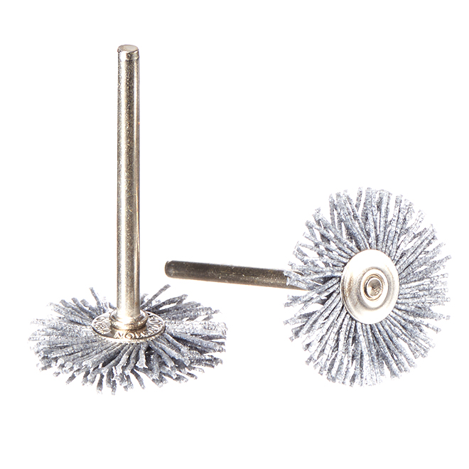 "Abrasive Nylon Brushes - 1"" - 2 Pack"