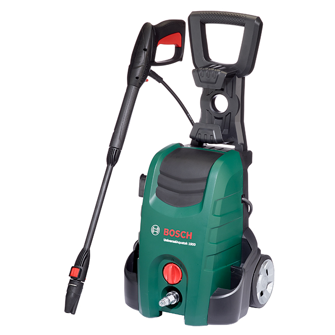 Aquatak Pressure Washer with Car Brush - 1900 PSI