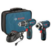 Drill/Driver and Impact Driver Kit - Cordless