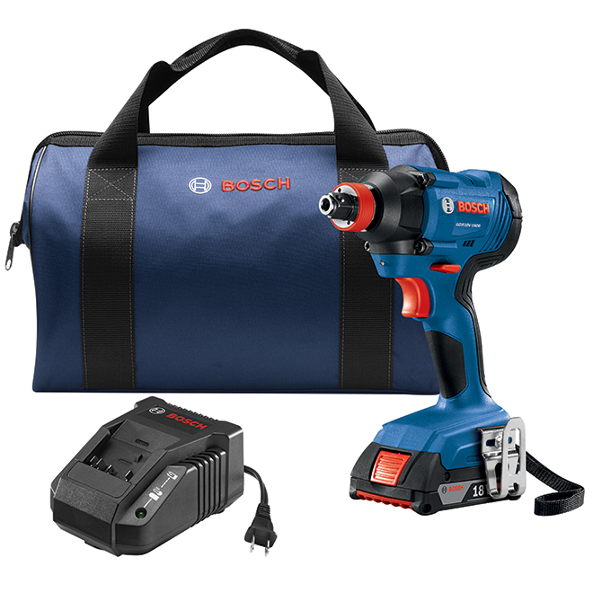 "Freak Impact Driver Kit - 1/4"" and 1/2"" - 18 V"