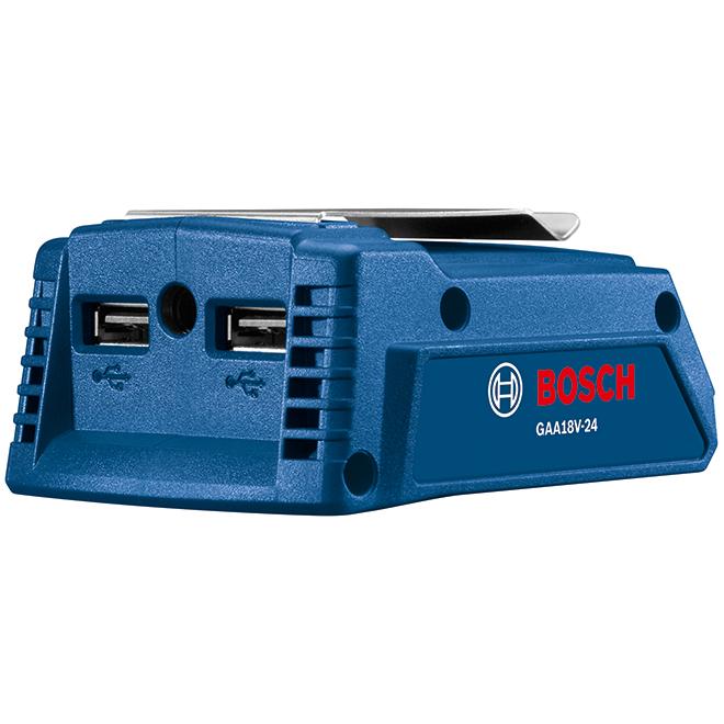 Bosch Portable Cordless Adaptor - 18 V Lithium-Ion - Blue