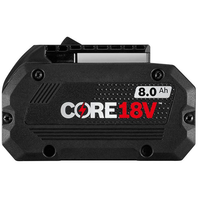 Batterie au lithium-ion CORE18V, 18 V, 8,0 Ah
