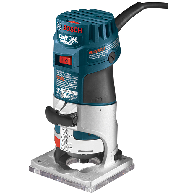 Colt(TM) Electronic Variable-Speed Palm Router