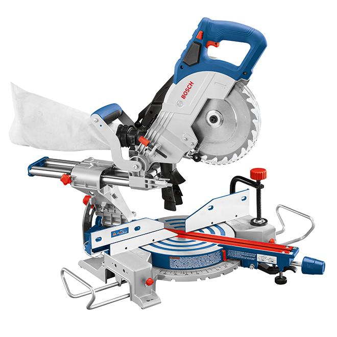 """Bosch - 18V - 8 1/2"""" Blade - Single-Bevel Slide Miter Saw"""