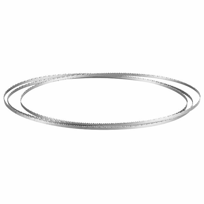 Bosch Band Saw Blade - Scroll Cutting - 15 TPI - 72 7/16-in x 1/8-in - Steel