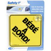 """Bébé à Bord"" Car Sign - 5"""