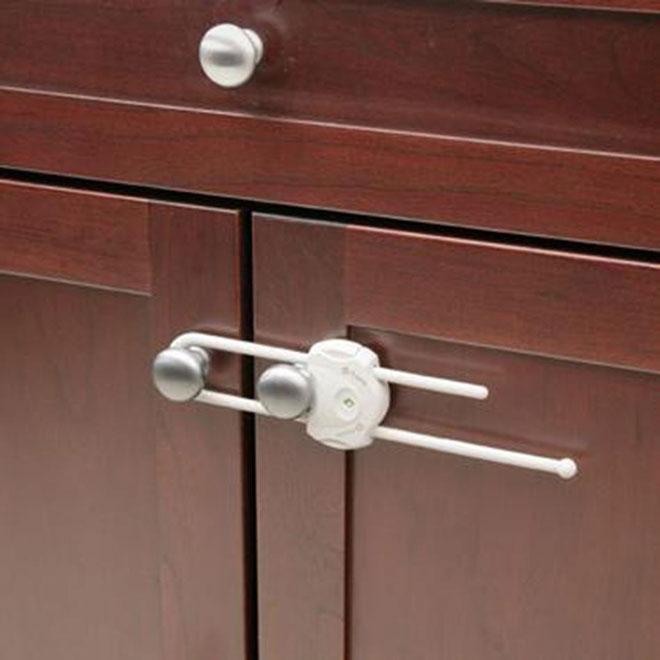 """Securetech(R)"" Sliding Cabinet Lock"