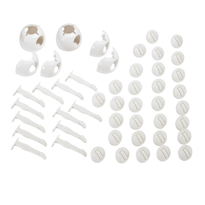 Childproofing Kit - 46 Pieces