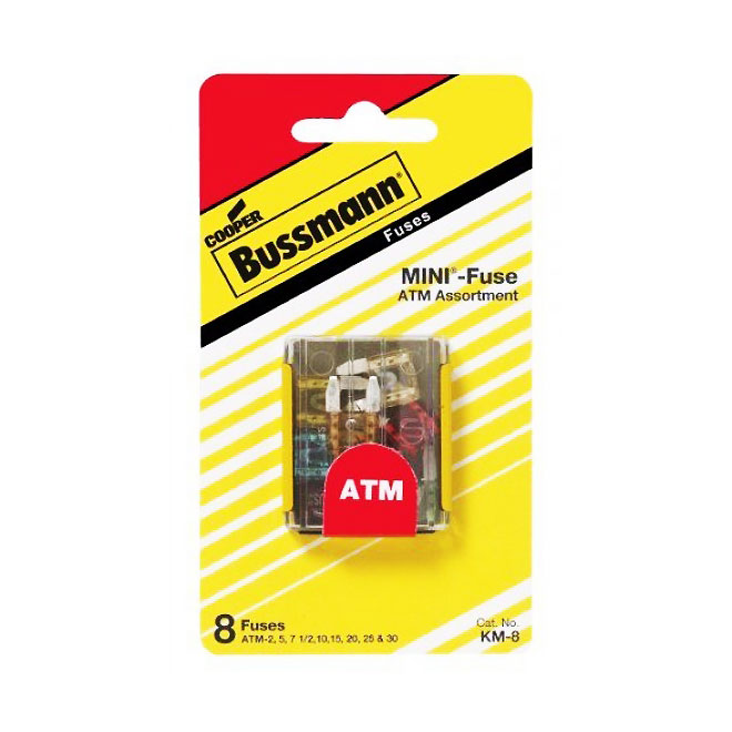 ATM Fuse Blade Assortment -8-Pack