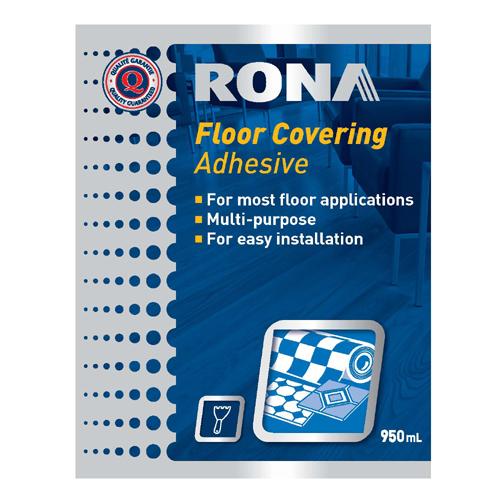 Floor Covering Adhesive - 950 mL - Brown