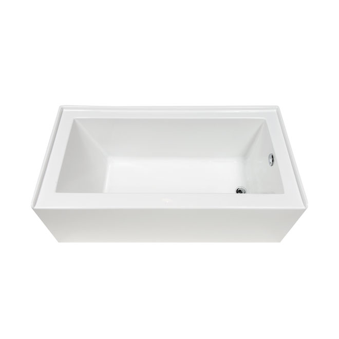 Plenitude Acrylic Bathtub - Right - 31\