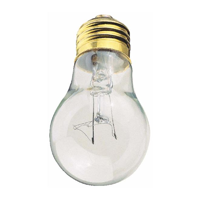 A15 Incandescent Bulb - Clear Medium Base - 60 W - 2/Pack