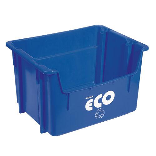 Bac de recyclage 47 L