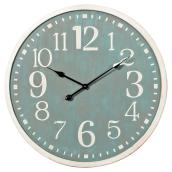 Round Wall Clock - 70 cm x 4.5 cm - Aqua