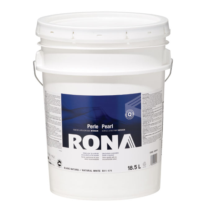 Interior Paint - Latex - 18.5 L - White - Pearl
