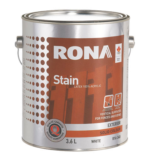 """Stain - """"Solid Finish"""" Exterior Stain"""