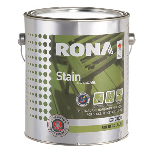 """Stain - """"Solid Finish"""" Exterior Hybrid Stain"""