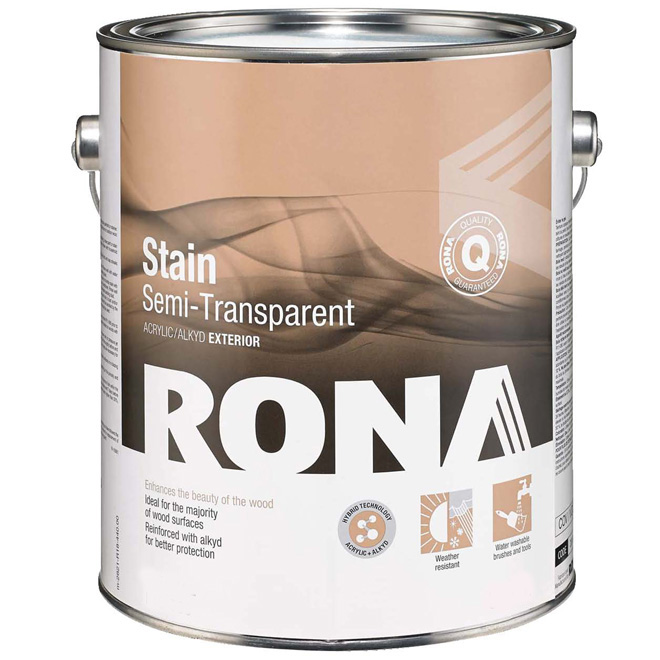 """Stain - """"Semi-Transp. Finish"""" Ext. Hybrid Stain"""