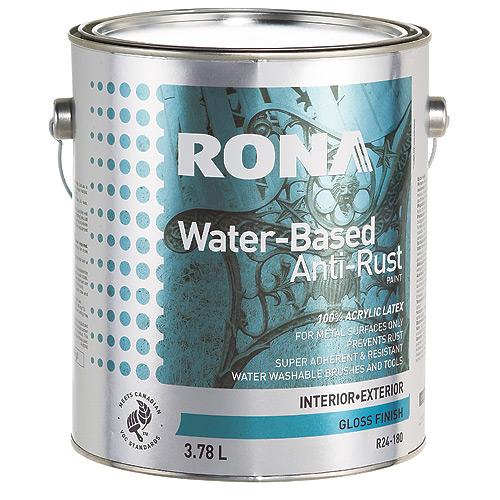 Water-Based Anti-Rust Paint