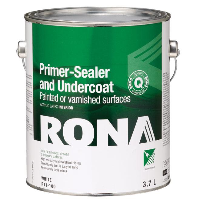 Interior Primer, Sealer and Undercoat - 3.7 L - White