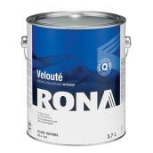 Peinture d'intérieur RONA, latex, 3,7 l, blanc, velouté