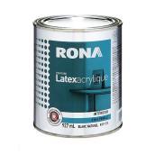 Peinture d'intérieur, latex acrylique, 927 ml, blanc, perle