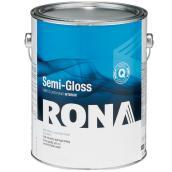 RONA Paint - Interior - Latex - 3.7 L - White - Semi-Gloss